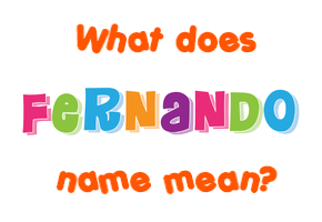 what does my name mean in spanish driverlayer search engine