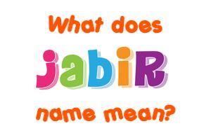 jabir name
