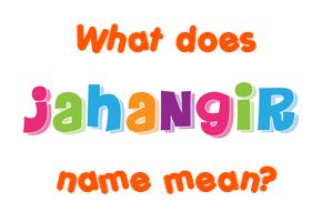 jahangir name
