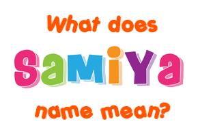 ya name meaning