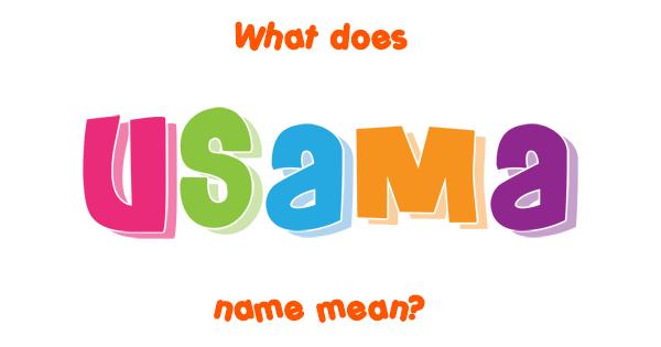 name usama